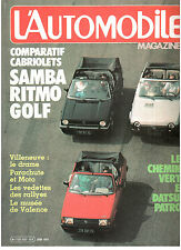 L'automobile magazine:  N°432 juin 1982