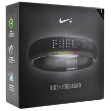 Nike+ Fuelband Pedometer Watch  Black Steel WM0105-001 SM Small