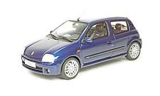 RENAULT CLIO 2 RS PH. 1 BLEU - OTTOMOBILE 1/18 car Voiture miniature