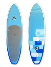 "Triple X ""The Fluid"" 9' 6"" Epoxy Stand Up Paddle Board/Surf SUP//Blue"