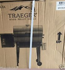 NEW TRAEGER  JUNIOR ELITE 20 TAILGATOR GRILL BRONZE  DIGITAL T-STAT