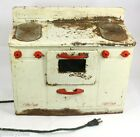 Little Lady Electric Stove & Oven 1950's VINTAGE Toy - IT WORKS! - Heats up