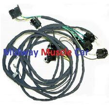 rear body panel tail lamp light wiring harness 70 71 72 73 Pontiac Firebird T/A