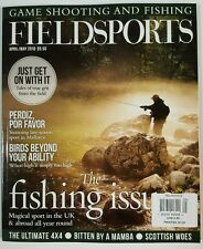 Fieldsports Fishing Issue Game Shooting Mallorca April May 2016 FREE SHIPPING JB