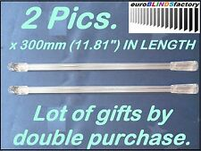 2Pcs.x 300mm.VENETIAN BLIND CONTROL ROD – WAND (Hook on Style)-NEW