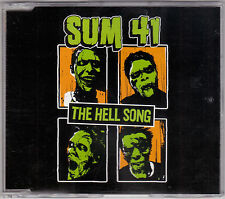 Sum 41 - The Hell Song - CD (063 722-2 Island 4 x Track Australia)