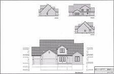 Full Set of two story 5 bedroom house plans 2,330 sq ft