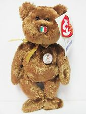 """Ty Beanie Baby """"Italy"""" the World Cup Champion Bear, Brand New w/Mint Tags"""