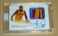 2012 2013 Panini FLAWLESS Kyrie Irving GOLD PATCH rookie on-card autograph 9/10