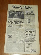 MELODY MAKER 1947 #738 SEPT 27 JAZZ SWING TITO BURNS GRAPPELLY DICK KATZ CARR
