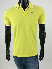 Diesel 55DSL New Men's Murra Short Sleeve Polo T-shirt Size XL Color Yellow