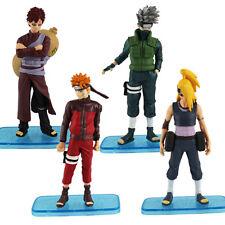 4x NARUTO Uzumaki Kakashi Figure Set