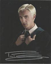 Tom Felton authentic signed autographed 8x10 photograph holo JSA COA