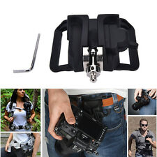 "1/4"" Screw Camera Waist Spider Belt Holster Quick  Buckle Dull for Camera hcuk"