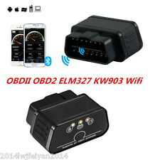 ELM327 OBDII OBD2 KW903 WiFi Car Fault Code Reader Bluetooth Diagnostic Scanner