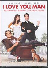 I LOVE YOU, MAN - DVD (NUOVO SIGILLATO)