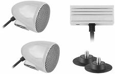 Cycle Sounds Sport Bike Audio System with 2in. Bullet Speakers 1102-0620