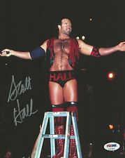 Scott Hall Signed NWO Outsiders 8x10 Photo PSA/DNA COA WWE Autograph WCW Picture