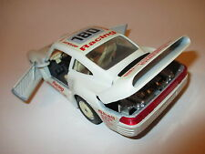 "Porsche 959 in creme ""PORSCHE RACING / Dunlop"" #180, Bburago in 1:24!"
