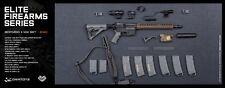 DAM DAMTOYS 1/6 Scale Assault Rifle Weapon Gun Model SOPMOD M4 II M4 SET EF001