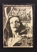 VAMPIRA THE MOVIE DVD Maila Nurmi HORROR Film Star Plan 9 From Outer Space