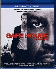 Safe House (NEW Blu-ray/DVD COMBO)DENZEL WASHINGTON,RYAN REYNOLDS,SAM SHEPARD