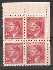Bohemia & Moravia 1942 German Occupation,A.Hitler Block 1.20K,Sc 69,VF MNH**OG