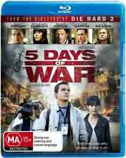 5 Days of War - Blu Ray - Based on Actual Events in 2008 - Garcia, Friend, Coyle