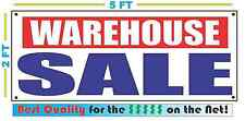 WAREHOUSE SALE Banner Sign NEW XXL Size Best Quality for the $$$$ RW&B
