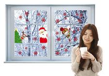 Fensterfolien Weihnachten Weihnachtsdekoration Fensterdeko Fensterbilder Deko