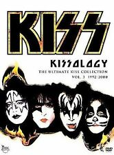 KISS - Kissology The Ultimate Collection Vol. 3 1992-2000 4 DVD SET New & Sealed