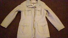marks and spencers  coat beige size14 vgc