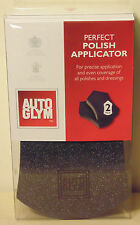 Auto Glym Perfect Polish Applicator 2 Pack for Car Care VW Nissan Toyota Subaru