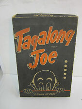 vintage tagalong joe glass checkers marble strategy board game 1950 Wales rare