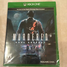 Murdered: Soul Suspect (Microsoft Xbox One, 2014) NEW