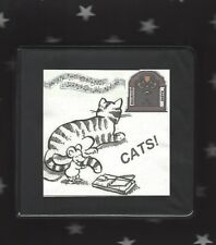 CATS !  8 cd set old radio broadcasts all about felines  drama mystery song OTR