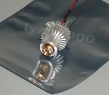 Real high quality 100mw~130mw 532nm green laser module with glass lens