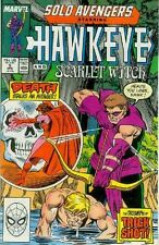 Solo Avengers # 5 (Hawkeye, Scarlet Witch) (USA, 1988)