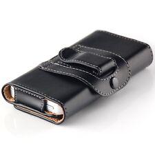 Gürtel Tasche für Nokia E51 Schutz Hülle Bumper Handy Etui Schale Schwarz