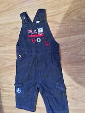 BABY denim dungarees 6-9months very good condition