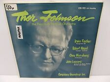 Thor Johnson Music of  Fischer Nagel, Wen-chung, Lessard CRI-122 Vinyl LP