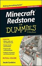 Minecraft Redstone For Dummies (For Dummies (ComputerTech))-ExLibrary