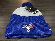 Toronto Blue Jays Baseball Cap Hat Toque Beanie Pom Winter Unisex Adult MLB