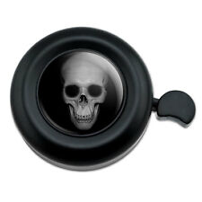 Human Skull Front View - Bicycle Handlebar Bike Bell