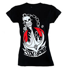 Skull and Anchor women's T-shirt by Sin and Bone