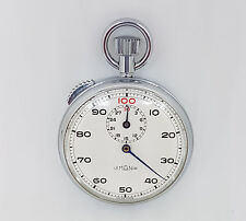VINTAGE USED LEMANIA STOP WATCH WHITE DIAL