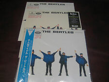 BEATLES HELP SET 02 RARE TOSHIBA/EMI OBI JAPAN + UK PRESSINGS FROM 90'S+180 GRAM