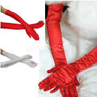 Long Gloves Satin Opera Wedding Bridal Evening Party Prom Costume Gloves