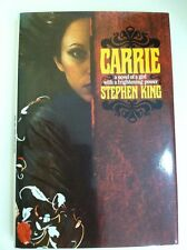 Carrie Stephen King 1974 Hardcover Like New