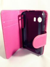PINK WALLET Leather Case Card Slots Phone Cover Samsung Galaxy Young GT-S5360